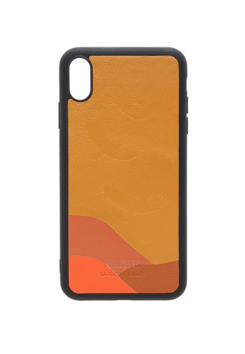 POROLUXE brown PHONE CASE FOR IPHONE XS MAX A85EAAC93F148BGS_1