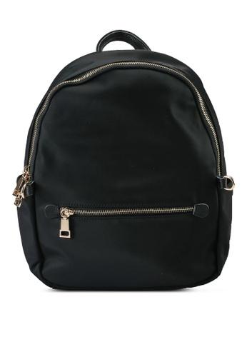 NUVEAU black Oxford Nylon Backpack 8F61EAC8744D37GS_1