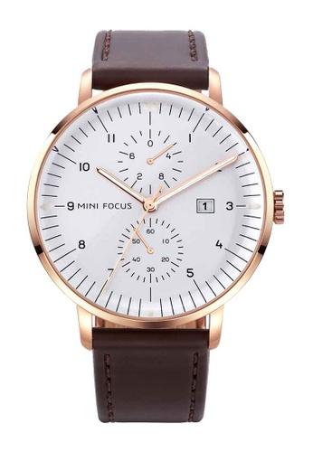 Mini Focus brown Mini Focus Classic Business Men Quartz Watch E3BFCACD2ED1AAGS_1