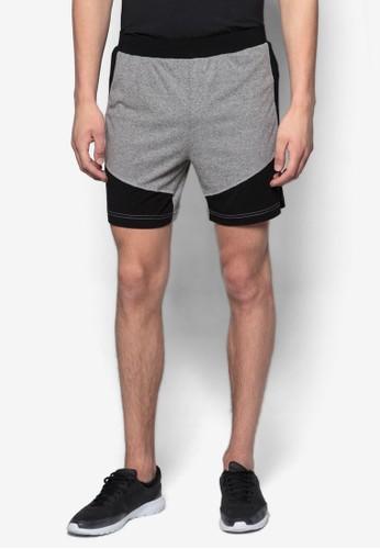 撞色拼esprit女裝接短褲, 服飾, Shorts