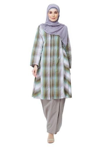 SITI KHADIJAH brown Siti Khadijah Kak Lang Kebarung in Brown FAF91AA8339445GS_1