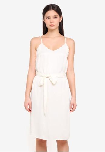 ICHI white Love Dress BECAAAACBF00B7GS_1
