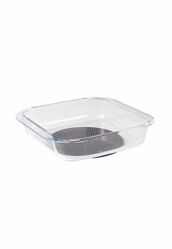 Slique n/a Premium Borosilicate Square Glass Baking Dish 2000ml 77491HLB834550GS_1