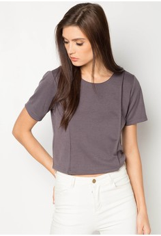 Short Sleeves Crop Top