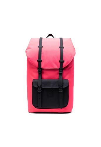 Herschel pink Herschel Little America Backpack Neon Pink/Black - 25L 50494AC6F2EC25GS_1