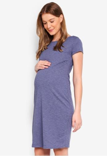 Noppies grey Maternity Aniek Dress 7E2CAAAD9D04A4GS_1