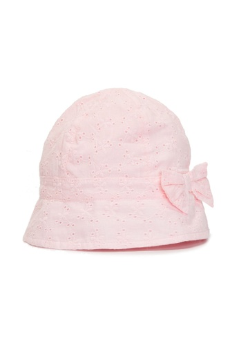 LC Waikiki pink Bow Detailed Baby Girl Hat 1A1B8KCB3A1575GS_1