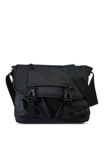 Milliot & Co. black Jorge Sling Bag F5199AC3120809GS_1