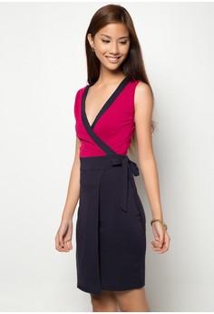 Zinnia Overlap Dress