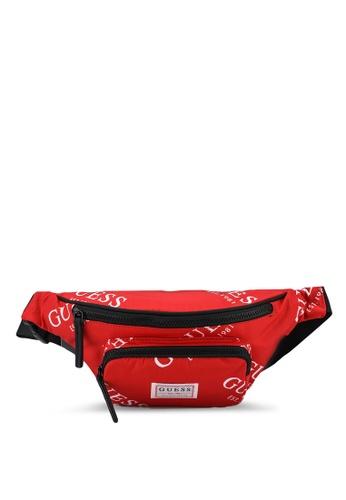 Guess red Originals Bum Bag A59FFAC7E45061GS_1