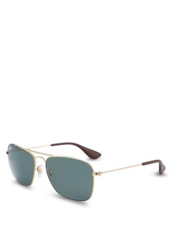 Ray-Ban 金色 Ray-Ban RB3610 Sunglasses 28DD5GLE7B3FA3GS_1