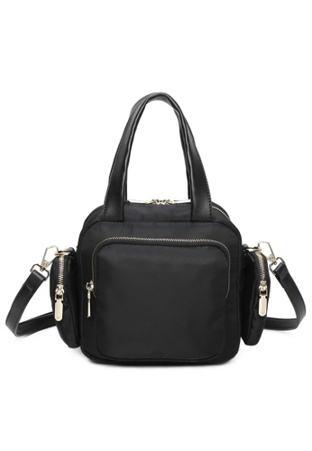 Milliot & Co. black Laurie Top Handles Bag 44BF7ACADD0685GS_1