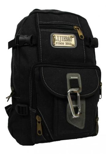 Lucky JX black Fashion Men's Bag F5BEBAC8B08E86GS_1