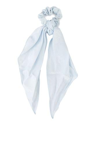 Rubi blue New York Convertible Scrunchie E0163AC6A61D1CGS_1