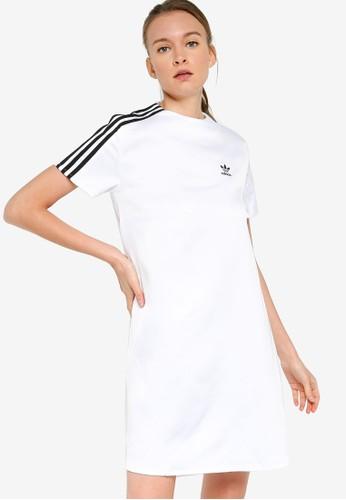ADIDAS white adicol dress 47354AADBE2329GS_1