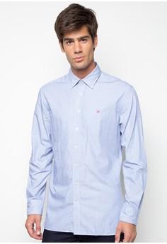 Fine Poplin Stripe Shirt