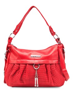 Shoulder Bag with Charm