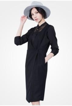 Lovingly Simple Surplice Vest Dress