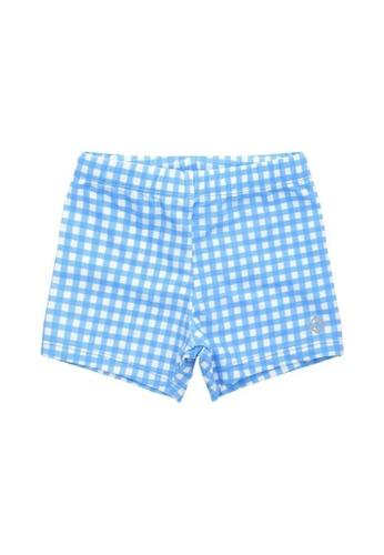 FUNFIT blue UPF50+ Junior Bottom (Unisex) in Gingham Summer Print E4787KA76260CEGS_1