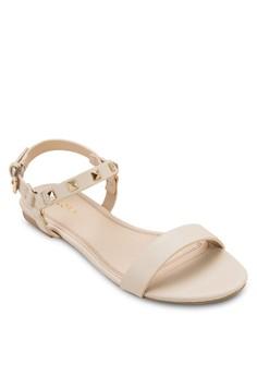 Flat Sandals With Stud Details