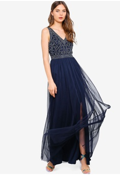 974034f5959 Frock and Frill Flavia Embellished Bodice Maxi Dress S  270.90. Sizes 6 8  10 12 14