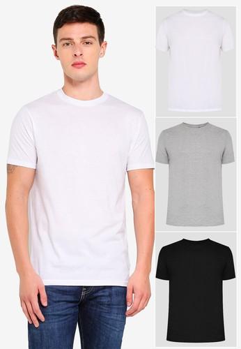 Brave Soul multi Pack Of 5 Basic Crew Neck T-Shirt 63C45AAE839959GS_1