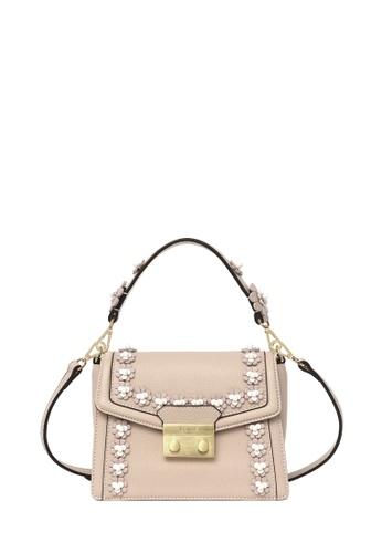 BONIA Pink Lexington Pearla Shoulder Bag XS 55F44AC67A5DF4GS_1