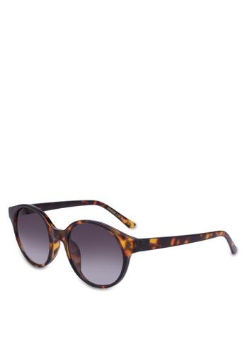 MANGO brown Tortoiseshell Sunglasses 702B2GL8E60458GS_1