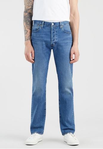 Levi's blue Levi's® Men's 501® Original Fit Jeans 00501-3220 5D55EAA0BF41ADGS_1