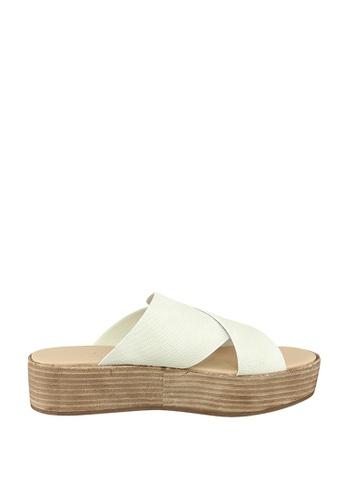 London Rag white Freida Flatform Sandals 861F9SHA67A4E7GS_1