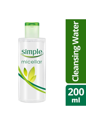 Simple n/a Simple Micellar Water 200Ml 7BAF7BE62412FBGS_1