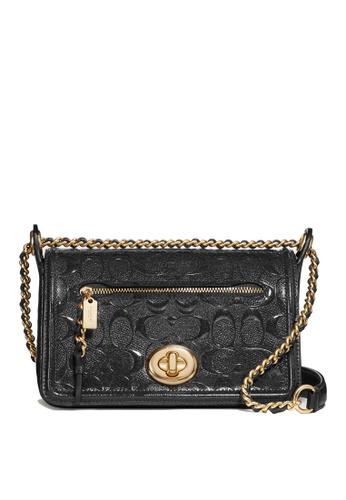 Coach black Lex Mini Flap Bag (cv) 79696AC2125F8EGS_1