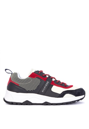 Tommy Hilfiger multi Material Mix Lightweight Runner Sneakers EC45FSH5E4E4F3GS_1