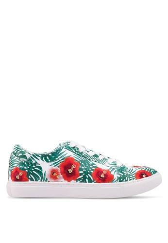 Kenneth Cole 綠色 Kcny Kam Palm Kam Sneakers B624CSH303A625GS_1