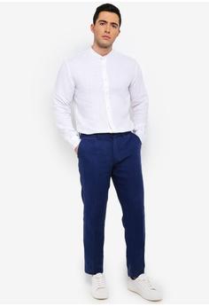153b4c5fa88e72 40% OFF MANGO Man Slim-Fit Linen Trousers S  89.90 NOW S  53.90 Sizes 38 40  42 44