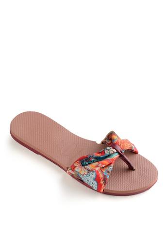 Havaianas pink You Saint Tropez Flip Flops 894DCSHE1CDAB2GS_1