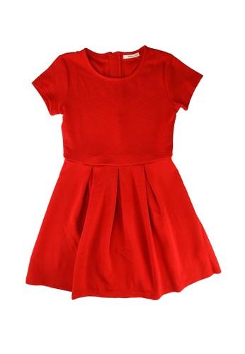 FOX Kids & Baby red Skater Dress 55B8DKAABAAF87GS_1