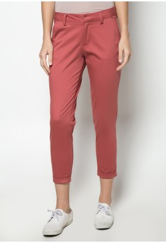 Colored Cropped Trousers