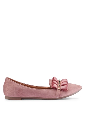 NOVENI pink Noveni Ballerina & Flats 96005SHEF60E6AGS_1