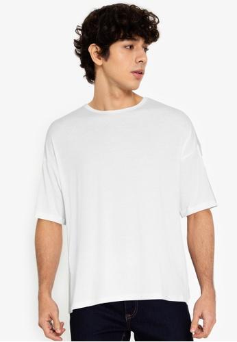 ZALORA BASICS multi Back Panel Stripe T-Shirt 2053AAA34F3F39GS_1