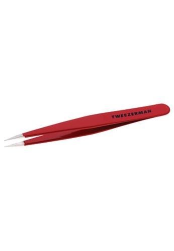 Tweezerman red Tweezerman Point Tweezer Sign Red TW456BE0FPBOSG_1