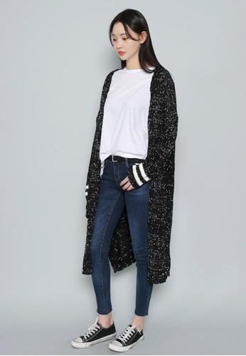 渲染長款針織開衫, 服飾, 毛衣&esprit分店amp; 針織外套