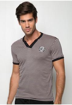 Sports V-Neck T-shirt