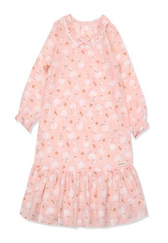 Organic mom orange Organic Cotton Grace Goose Lightweight Long Sleeves Pjs 9B7CFKA50922F3GS_1
