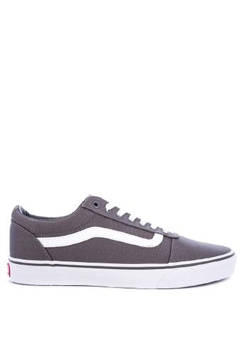 Vans grey Ward Lace-up Sneakers 9BE63SH6584EAEGS_1