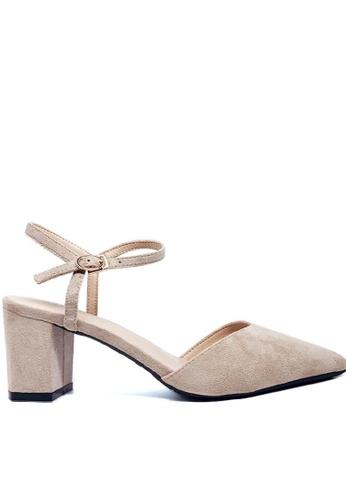 Twenty Eight Shoes Slingback Heel 3080-1 2D008SHB458D79GS_1