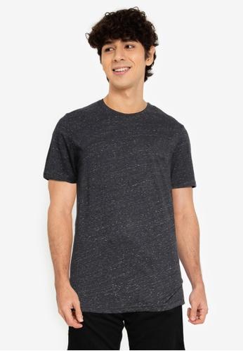 Jack & Jones 灰色 混色短袖 O-Neck T恤 0C05AAA4DA82D8GS_1