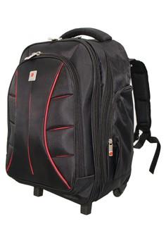 9a4b67bb05 60% OFF Polo Classic Polo Classic backpack trolley PAU911 - Black Rp  1.070.000 SEKARANG Rp 428.000 Ukuran One Size