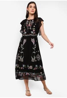 Desigual black Sandy Dress 1E86BAA837B165GS 1 969d40ae8