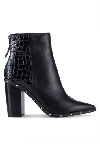 774b61d1ba ALDO black Ibalenna Ankle Heel Boots 5ABCASHDE1E2C3GS 1